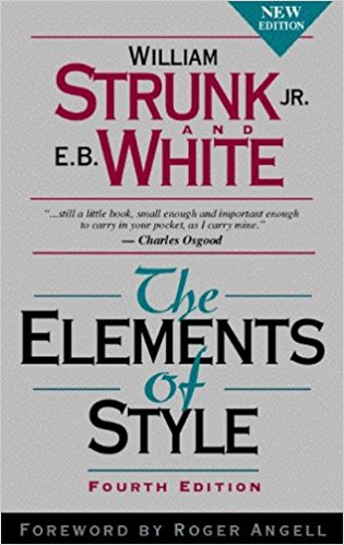 The Elements of Style — William Strunk Jr., E. B. White